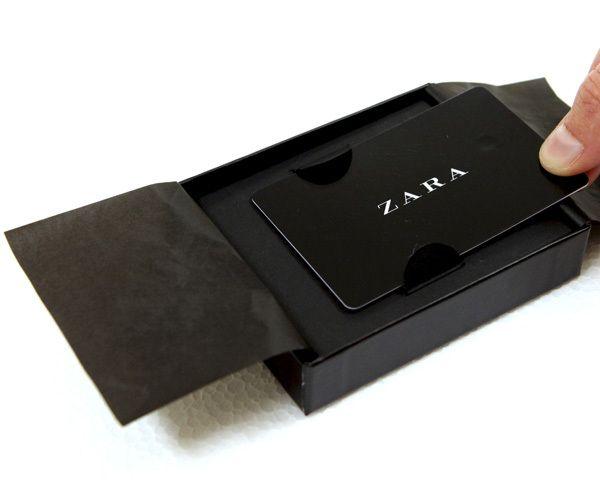 Zara Gift Card On Behance Zara Gifts Mcdonalds Gift