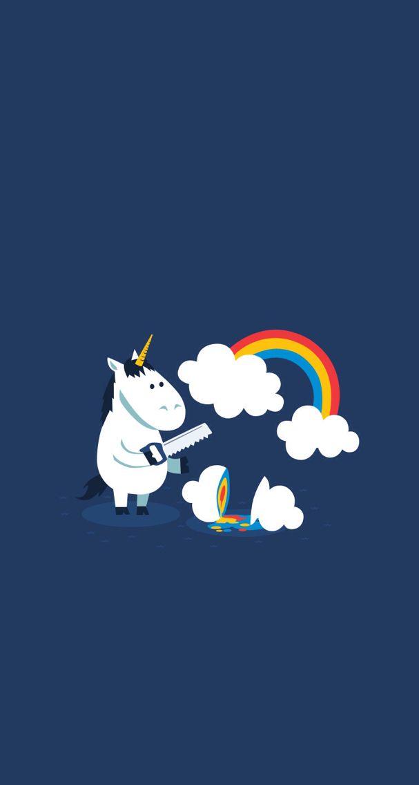 Fond D Ecran Wallpaper Unicorn Humour Unicorn Wallpaper Unicorn Funny Cute Unicorn