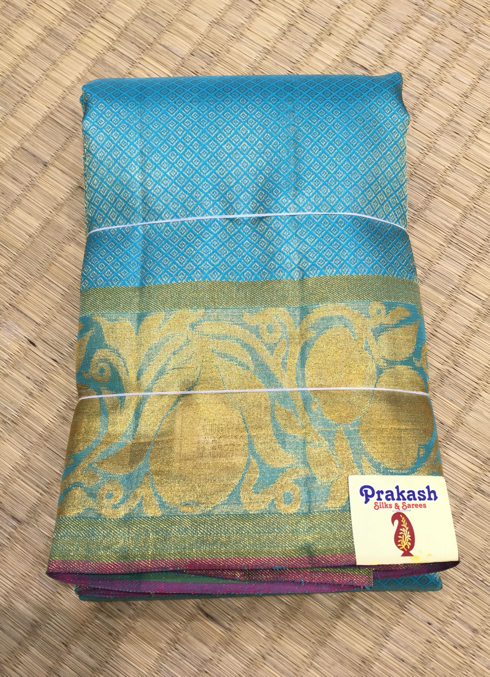 Designer saree from prakashsilks