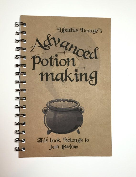 Advanced Potion Making Harry Potter Inspired by MisterScribbles