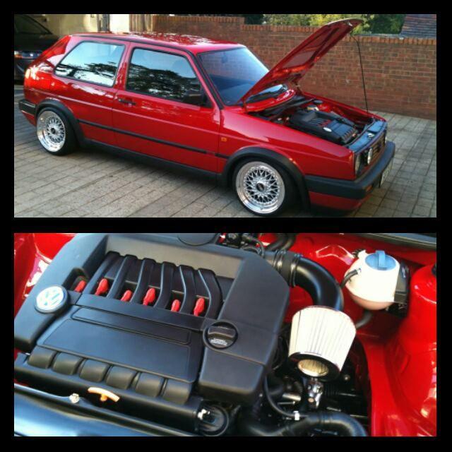 Vw Jetta Twin Turbo Kit: Mk2 Clean Turbo VR6 Swap Sweet Rides T Vw Golf And