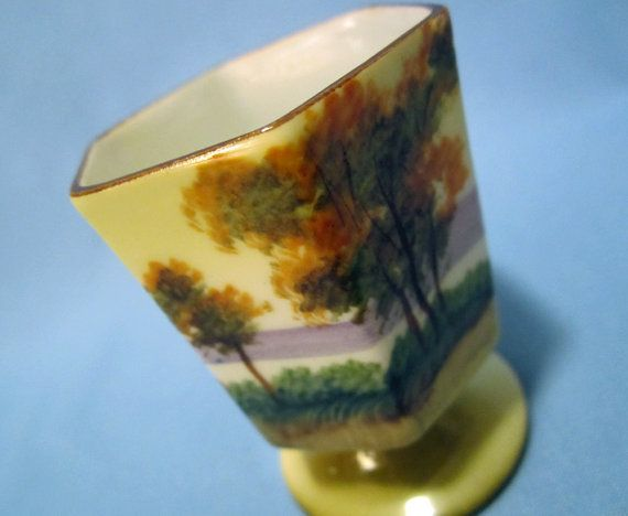 Nippon Hand-painted Toothpick Holder