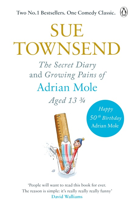 The Secret Diary Of Adrian Mole Aged 13 3 4 By Sue Townsend In 2020 Adrian Mole Secret Diary The Secret Book