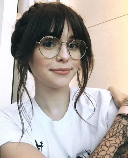 Super Hair Updos With Fringe Hairstyles With Bangs 36 Ideas Fringe Hairstyles Hairstyles With Bangs Hairstyles With Glasses