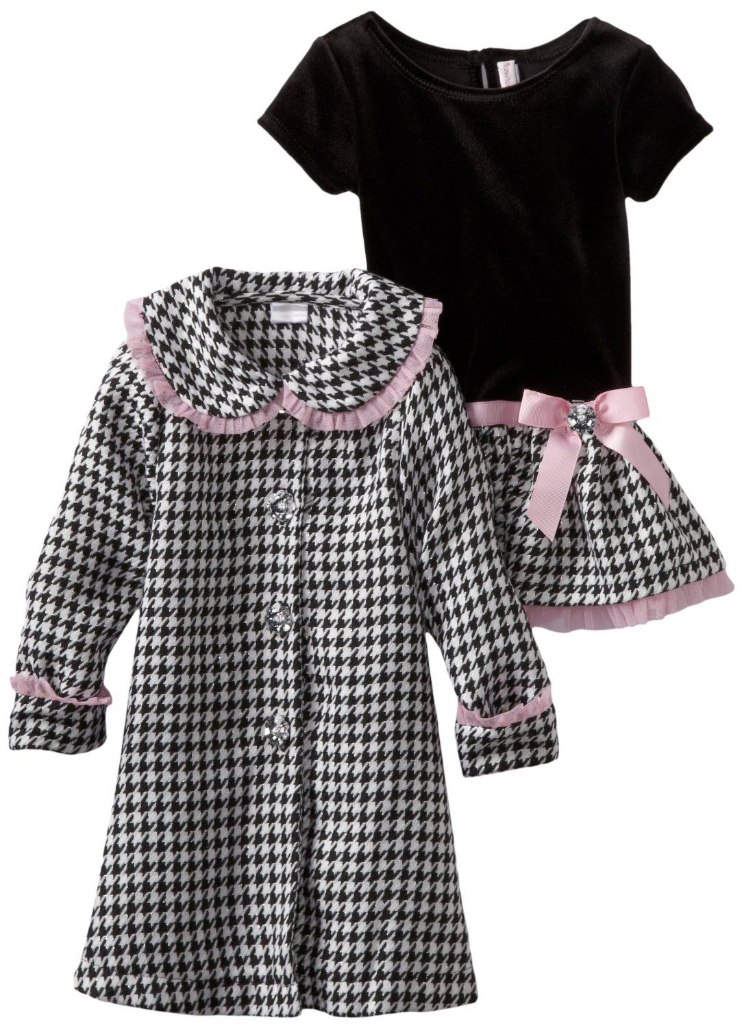 Youngland  Youngland Girls 2-6X Two Piece Plaid Lurex Coat Dress Set  Be the first to review this item  List Price: 	$52.00  Price: 	$26.00 -- http://www.amazon.com/Youngland-Girls-Piece-Plaid-Lurex/dp/B0085JD1SQ/?tag=weilos078-20