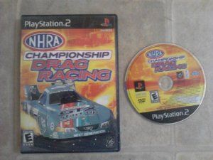 nhra championship drag racing playstation 2