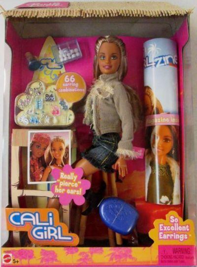 California Girl Barbie Ear Piercing 2004