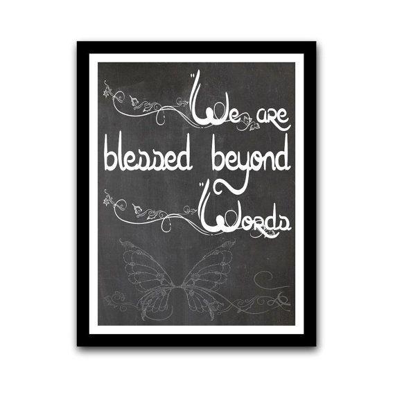 Inspirational Motivational Chalkboard Art by GeekChicPrints, $24.00
