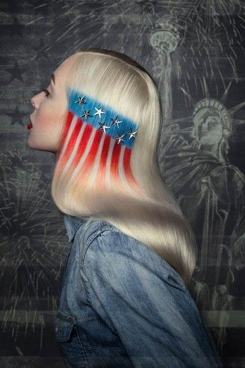 Don T Forget To Wave Your Flag On Flag Day Flagday Americanflag Yourgroomingguru Shades Of Red Hair Patriotic Hairstyles Beauty Solution