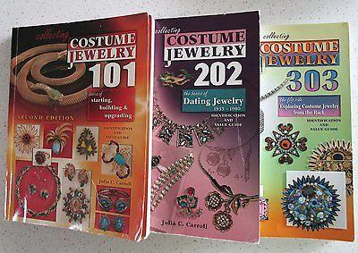 Julia-Carroll-Jewelry-Reference-Books-Costume-Jewelry-101-202-303