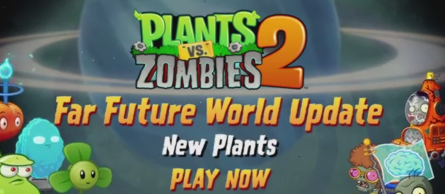 New plants and zombies added in plants vs zombies 2 far future new plants and zombies added in plants vs zombies 2 far future update http voltagebd Image collections
