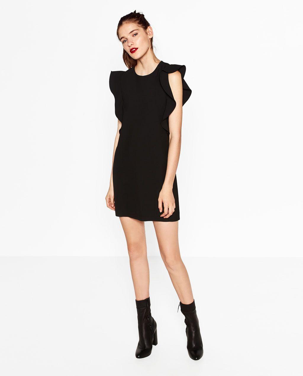 Zara woman vestidos cortos