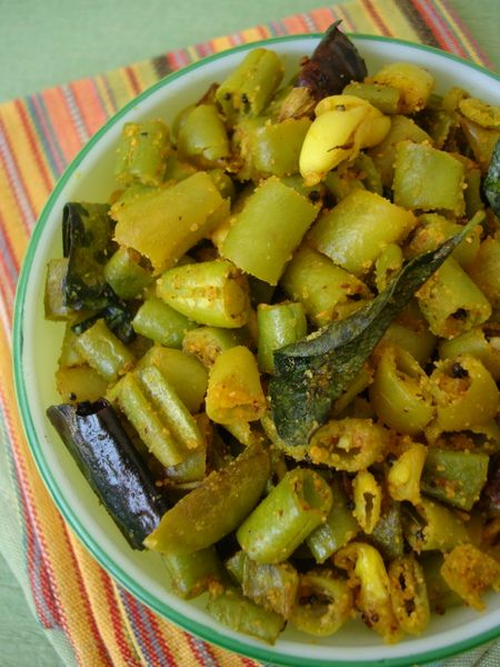 Beans Fry Recipe East Indian Recipes Pinterest Indian