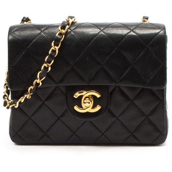 4c2c6850eb1 Chanel Mini Matelasse Single Chain Shoulder Bag In Black A - Beyond ...
