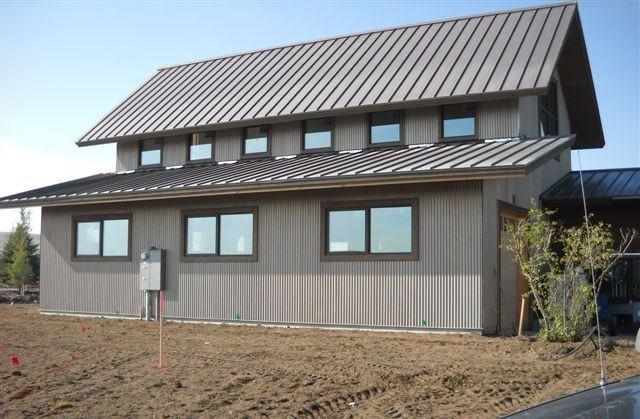 Vintage Corrugated Roofing 7 8 Corrugated Vintage Finish Modern Roofing Metal Roof Corrugated Roofing