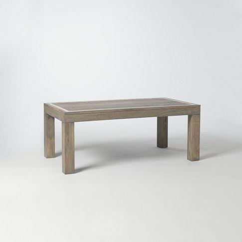 Parsons Rectangular Coffee Table Bone Inlay West Elm Side