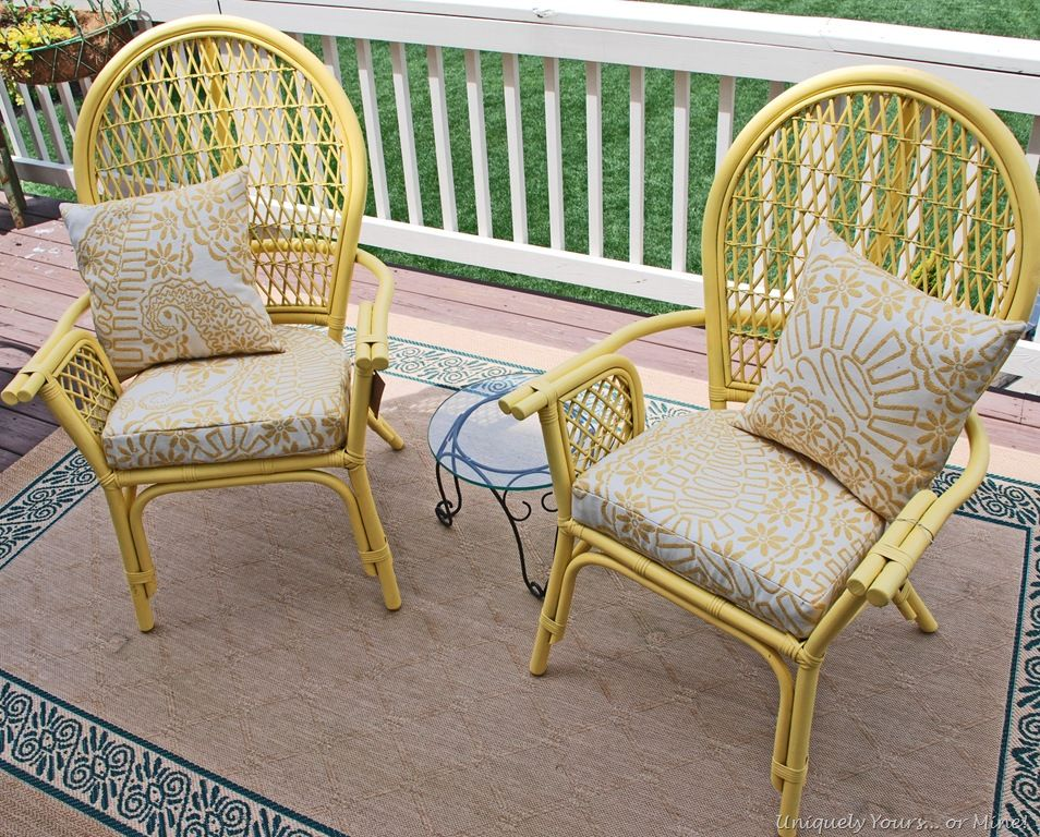 Love This Sunny Rustoleum Color For My Front Porch Chairs