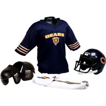 Franklin Sports NFL Helmet and Uniform Set Chicago Bears