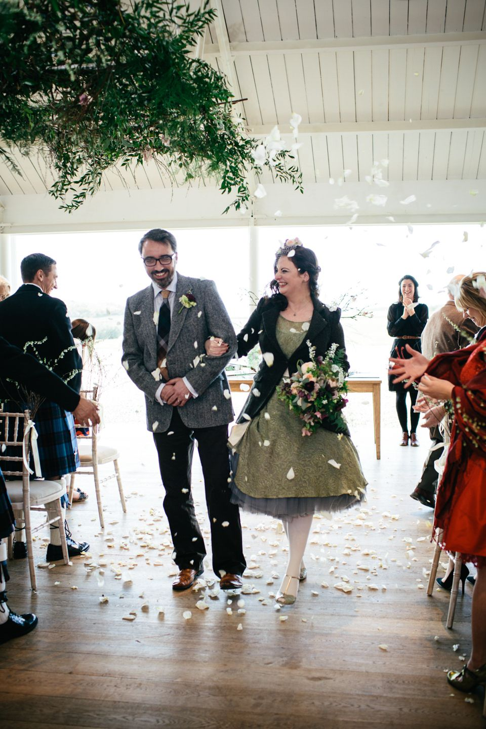 The Florist and The Fiddler  A Floral and Musical Inspired Wedding