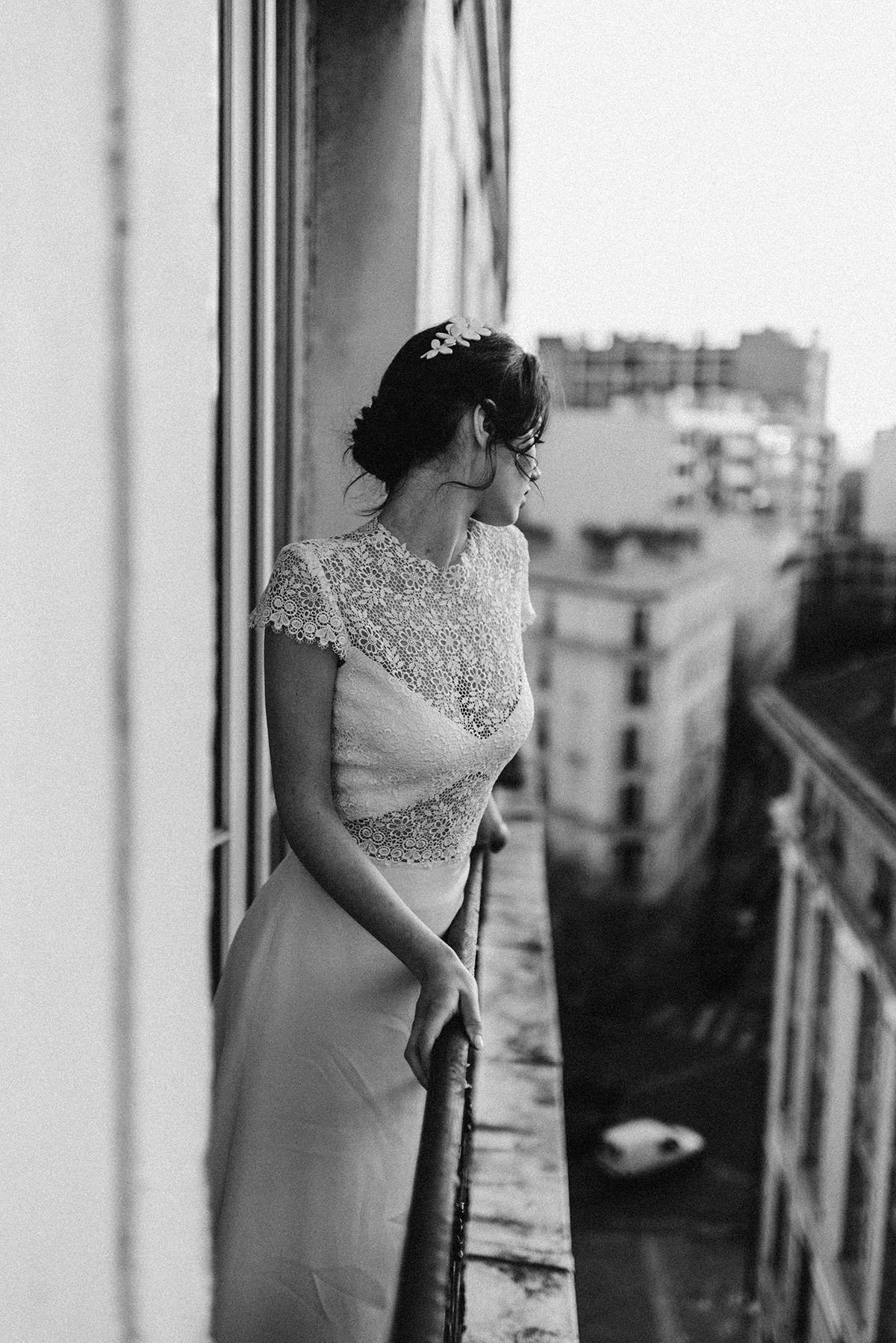 Modern wedding gown parisian inspired wedding shoot wedding dress