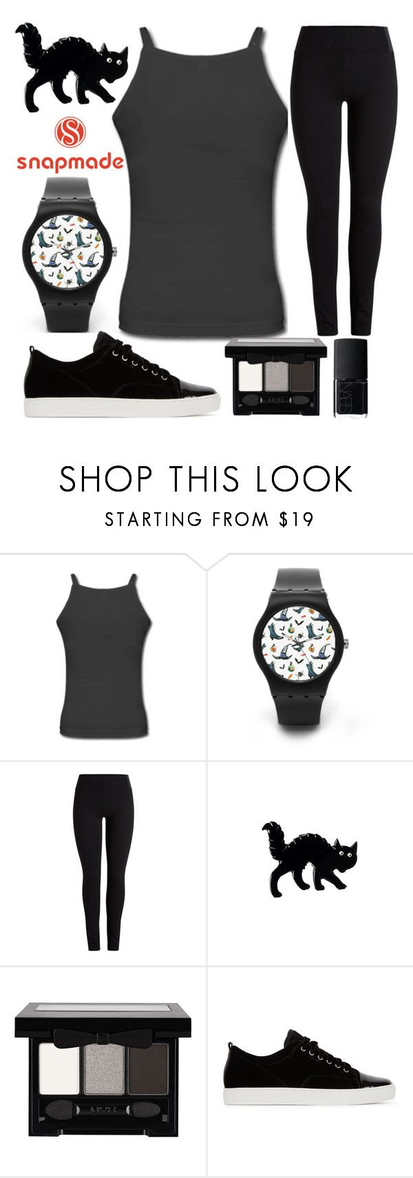 """""""snapmade"""" by j-n-a ❤ liked on Polyvore featuring NYX, Lanvin and NARS Cosmetics"""