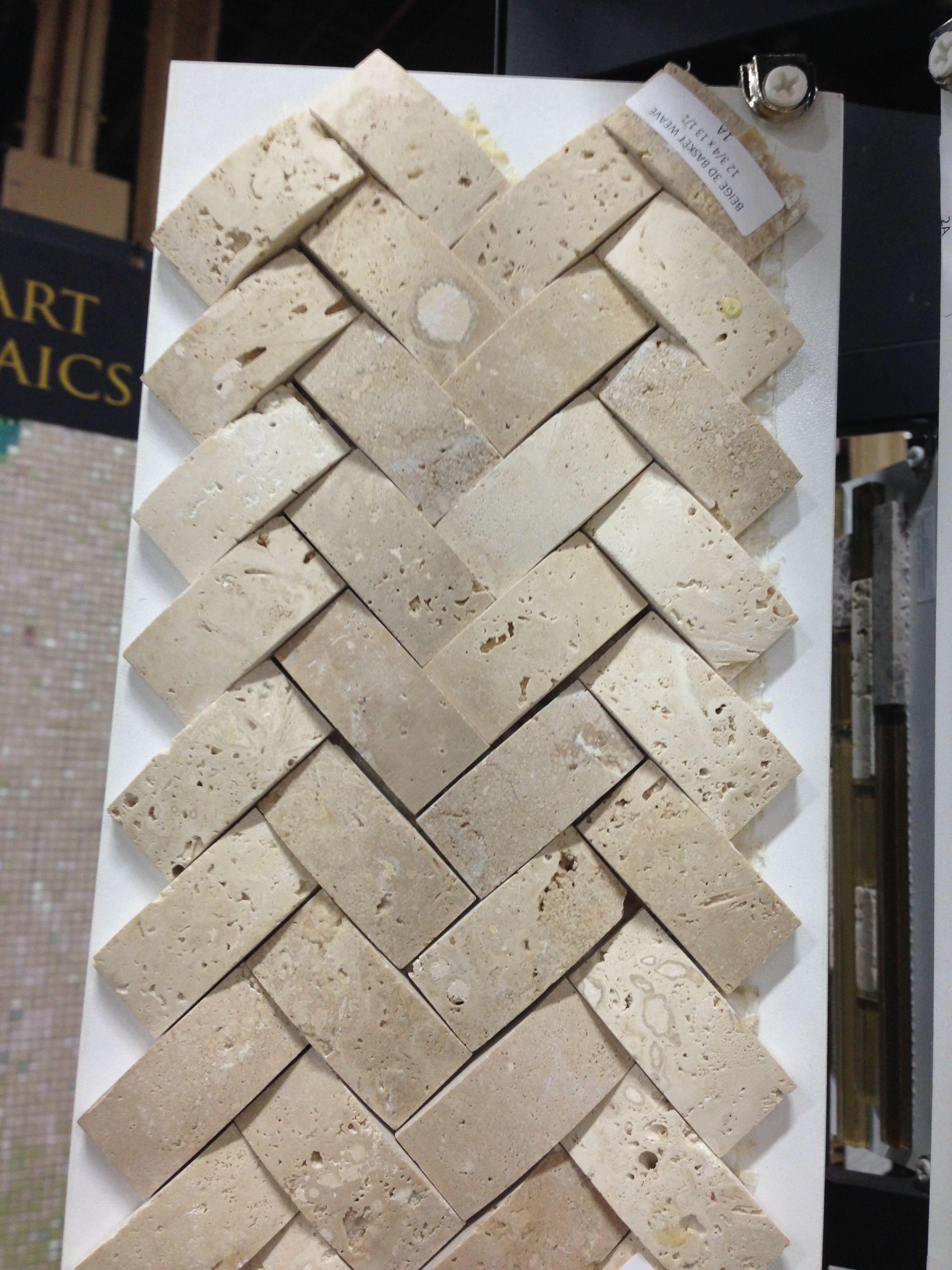 Basket Weave Backsplash Tile Kitchen Backsplash Wood