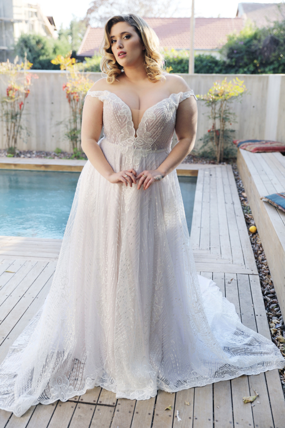 The Curvy Babe Bridal Collection Lets You Show Off Your