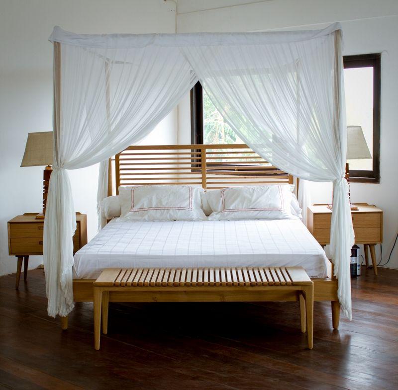 Cama con dosel y cabecero #dosel #canopy #bed #bedroom #cama | camas ...