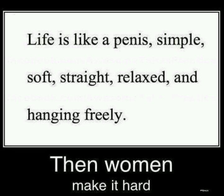 I'm a woman but this is funny...