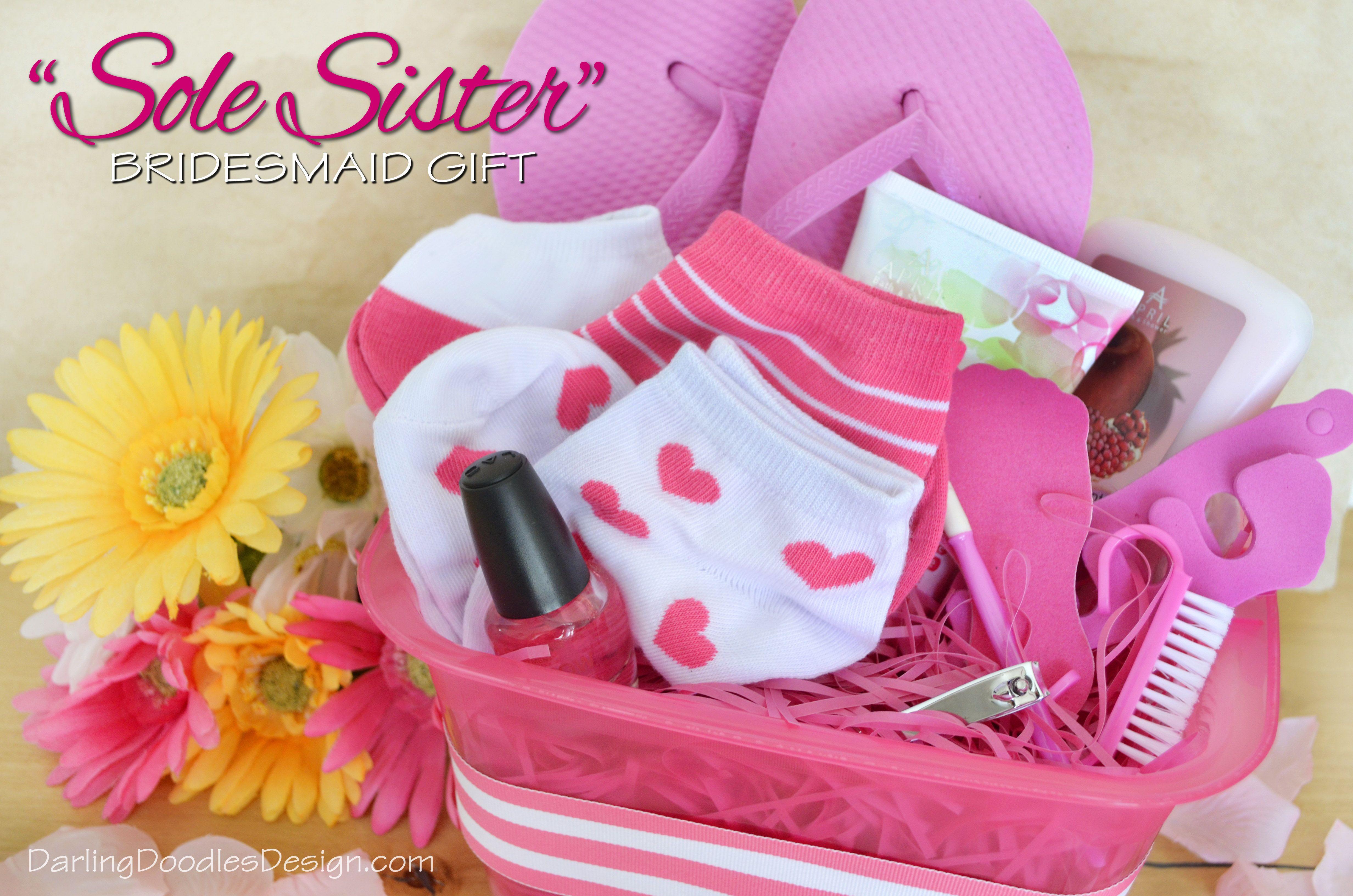 Sole Sister Bridesmaid Gift Tag- Free Printable | Wedding Inspired ...