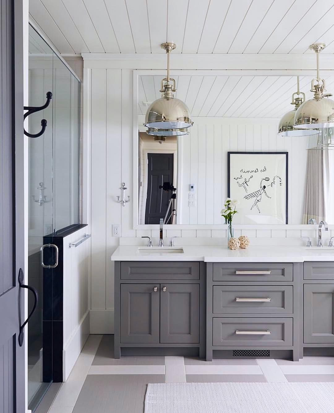 Ohtalk about bathroom goals loving the neutral colours and the