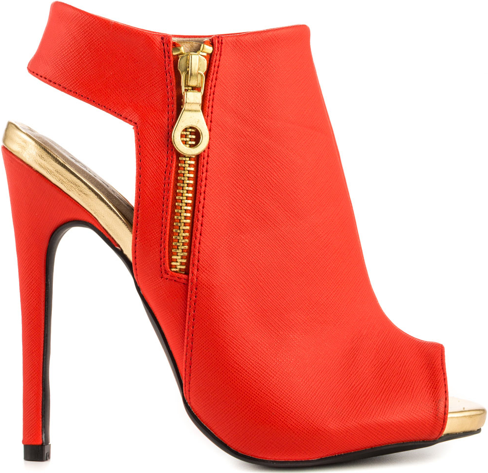 Qupid Tangerine Emboss Heather Peep-Toe Heel $54.99 #shoes - CLICK HERE for more: http://www.needcuteshoes.com/products/qupid-tangerine-emboss-heather-peep-toe-heel/