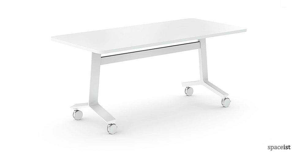 Blade Folding Stacking Table Meeting Table Table Conference