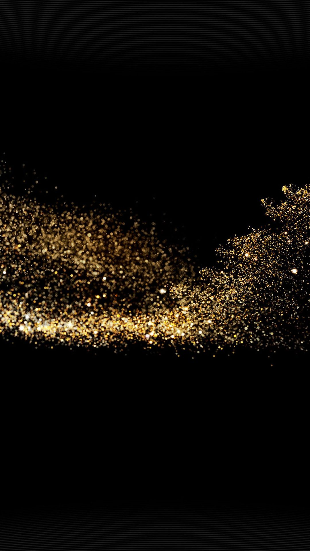 Gold Sparkle Beauty Dark Pattern Iphone  Plus Wallpaper