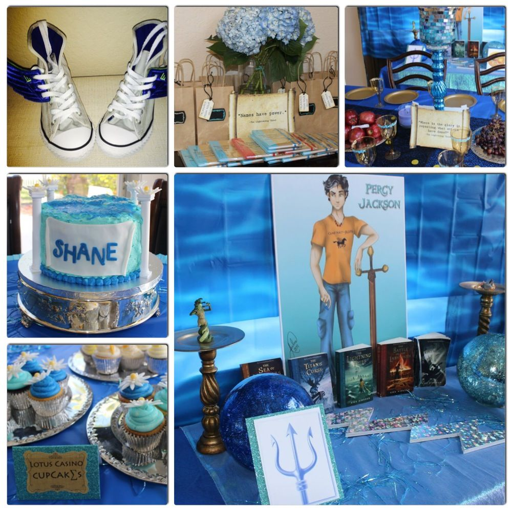 Percy Jackson Party Ideas by Lush and Lovely Favors – Percy Jackson Birthday Invitations