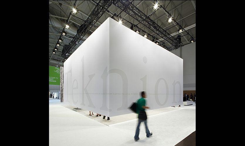 Floating Wall Exterior, Teknion IIDEX Exhibit 2009, Teknion, Vanderbyl Design #SEGD