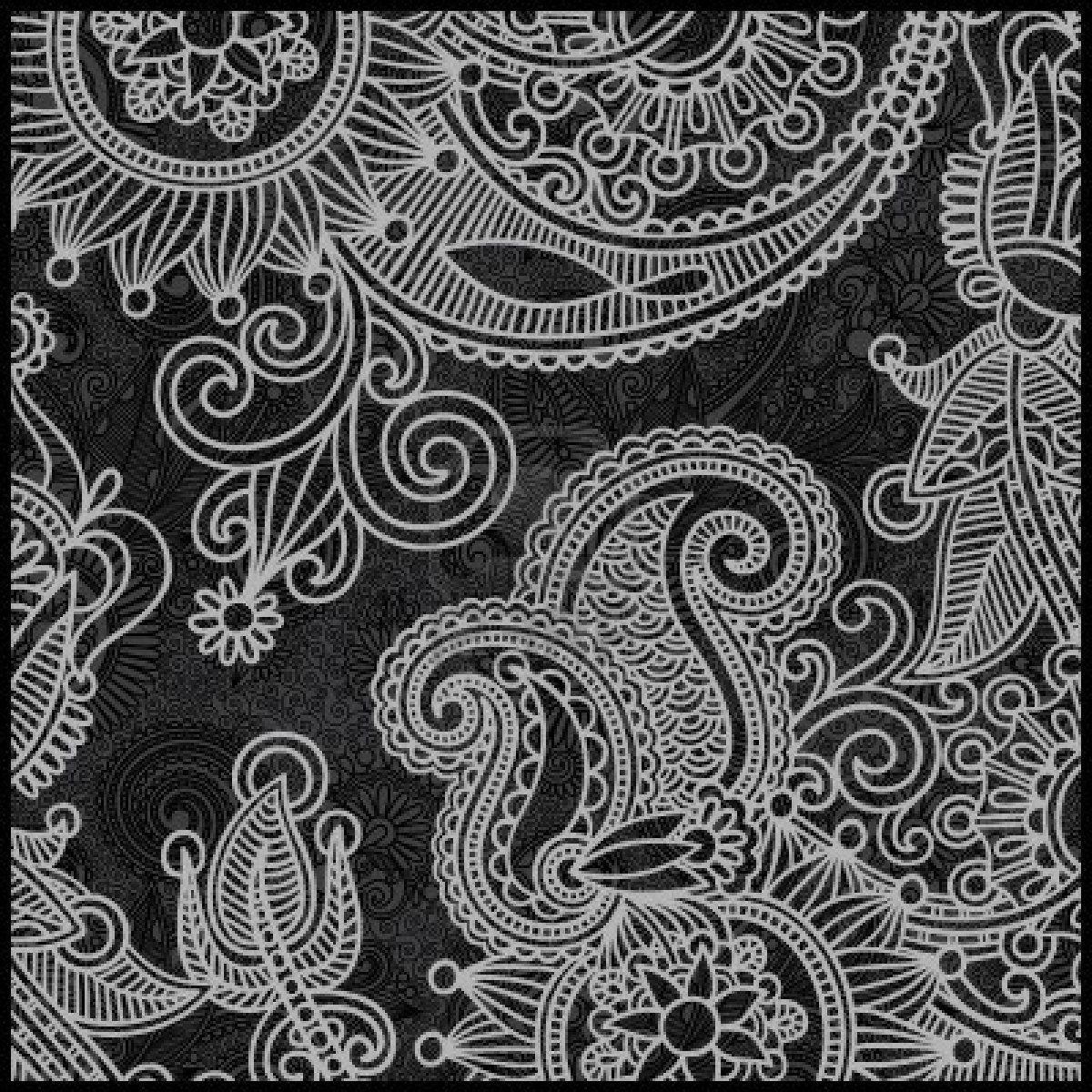 schwarz wei florale muster blumen t towierungen pinterest muster floral muster und. Black Bedroom Furniture Sets. Home Design Ideas