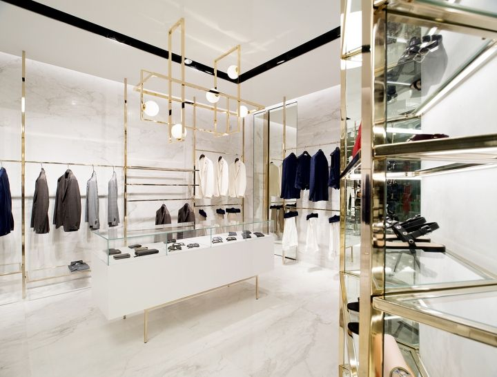 Closet store by Meregalli Merlo Architetti Associati, Singapore