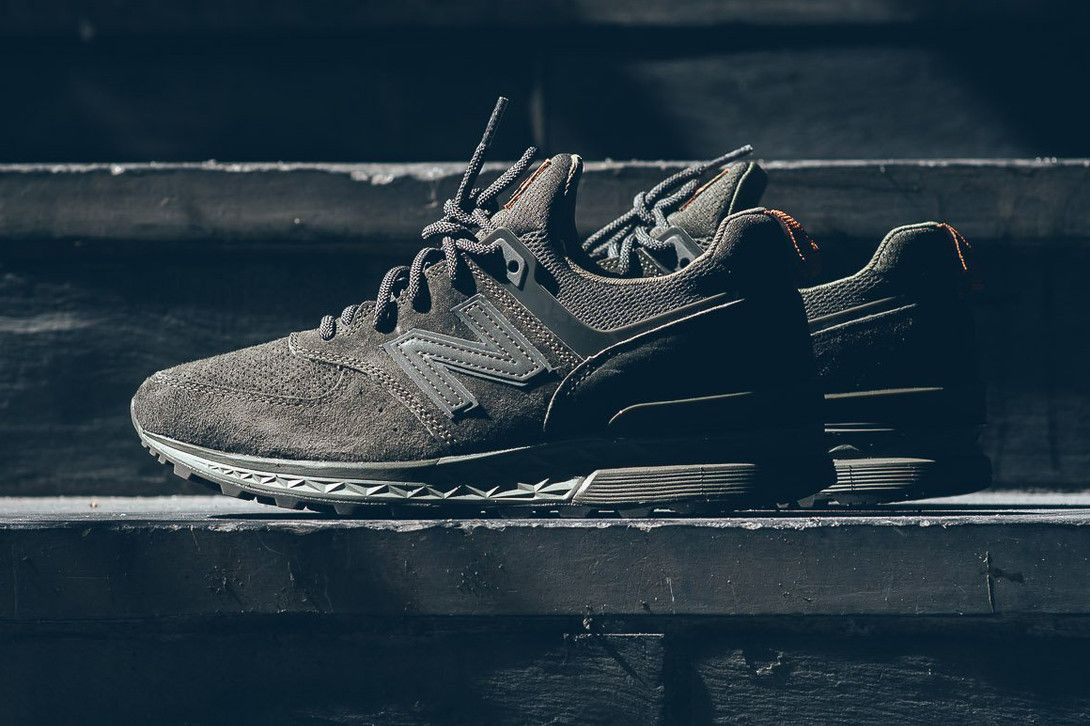 New Balance Unveils The 574 Sport In Olive Green