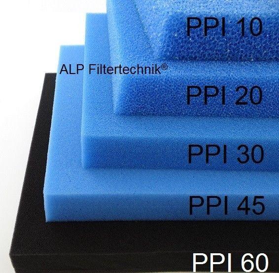Filterwürfel Filterschaum PPI 30 mittel-fein 100 Liter Biofilter Teichfilter Koi