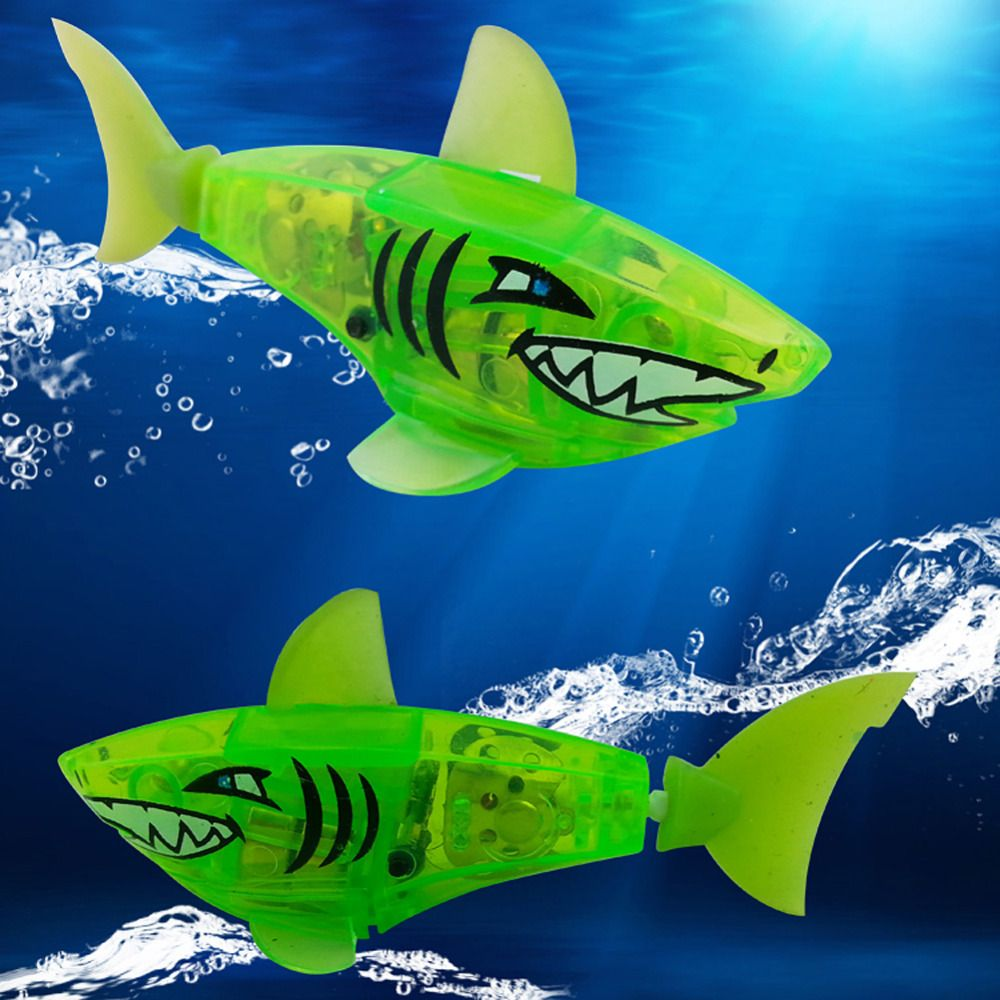 New Baby toys Baby kids Activated Battery Powered Robot Shark Toy ...