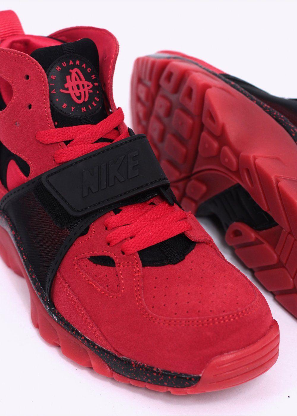4c6bf2b33fef Nike Quickstrike Air Trainer Huarache  Love Hate   Love  PRM QS Trainers - Challenge  Red   Black