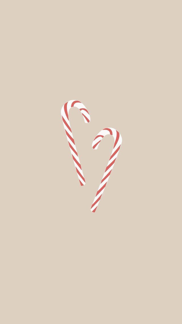 Candy Canes Cute Christmas Wallpaper Holiday Iphone Wallpaper Wallpaper Iphone Christmas
