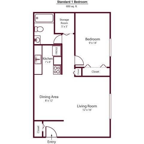 650 Sq Ft Floor Plans Google Search Small House Floor Plans Floor Plan Design House Plans