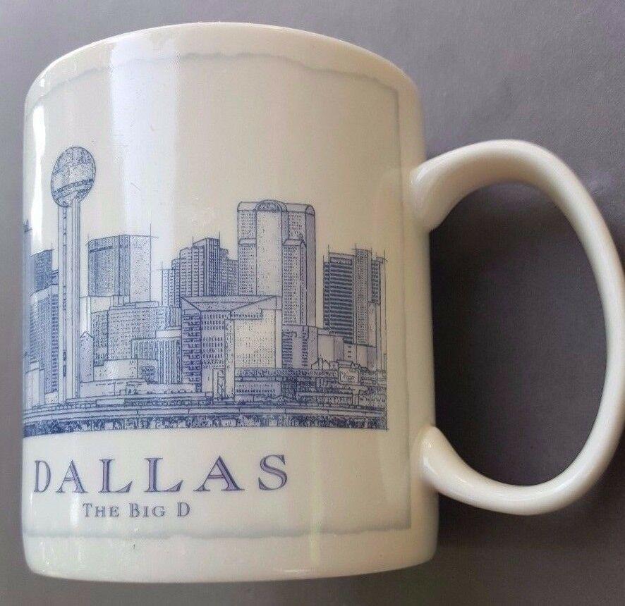 Details about Starbucks Dallas Coffee Cup Mug Skyline