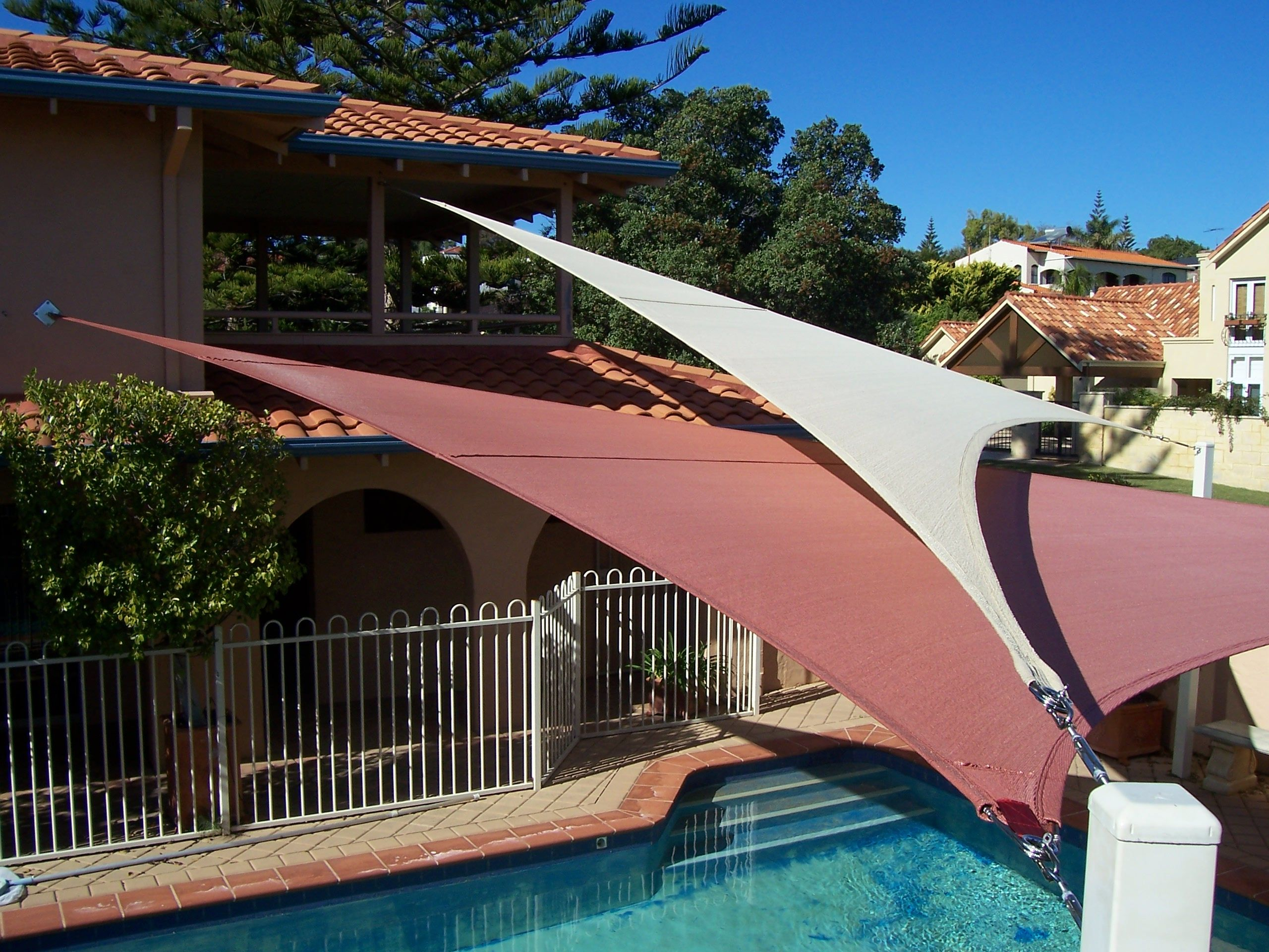 you shade a space your awnings for allow made sails retractable to custom patio create pin