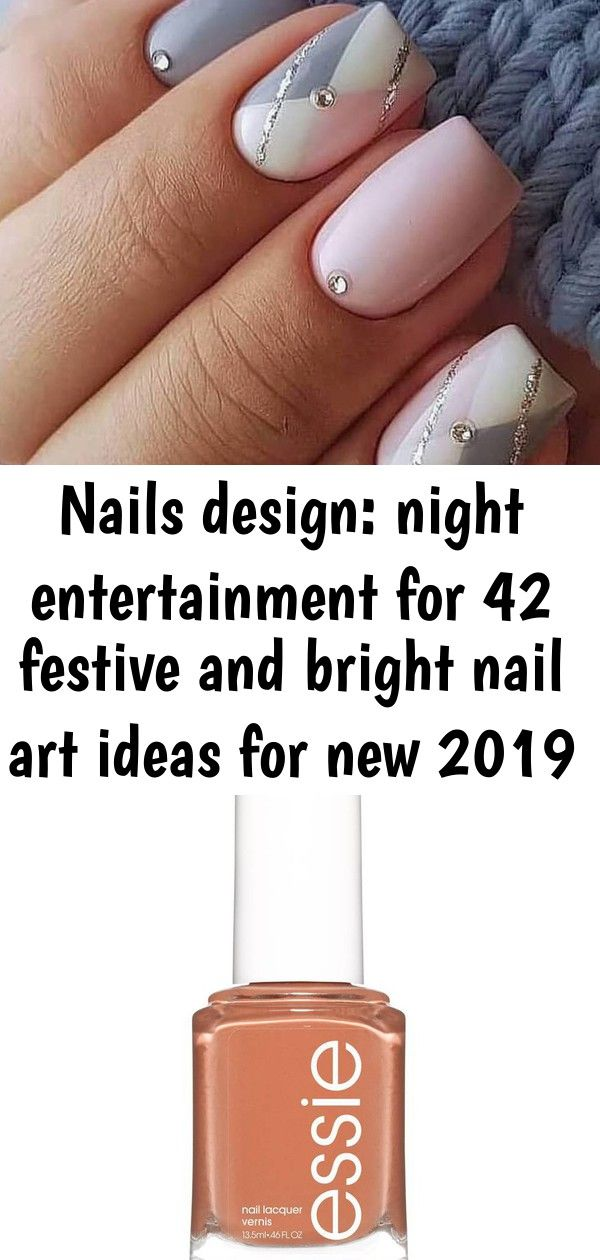 Nails design: night entertainment for 42 festive and bright nail art ideas for new 2019 – page 29 1