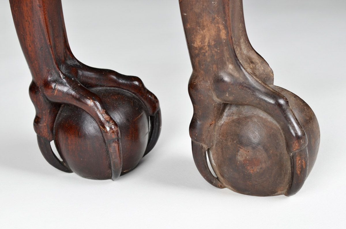 Townsend Goddard Ball And Claw Foot With A Space Between