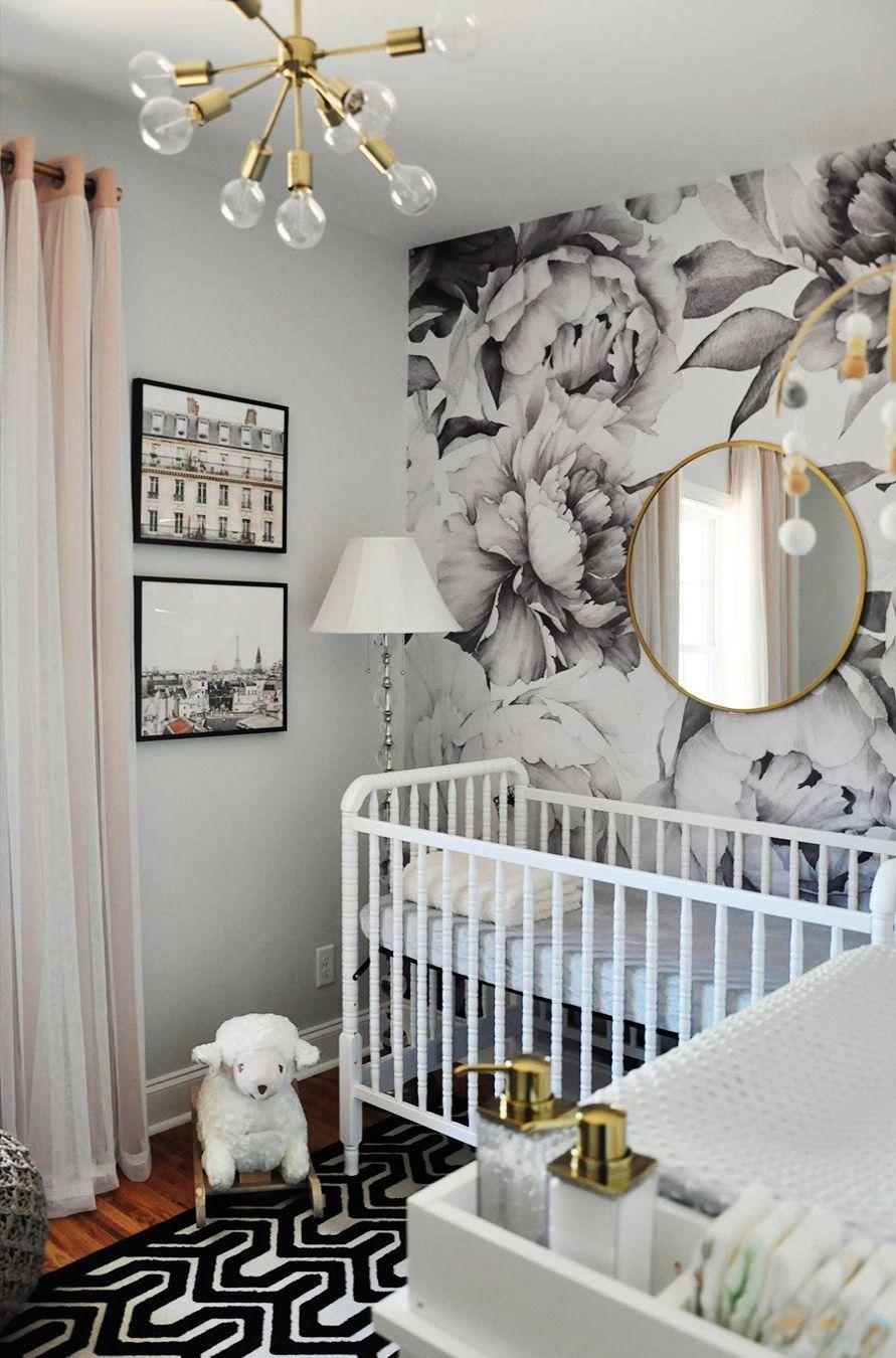 Modern Baby Room Wallpaper Hd Desktop Wallpapers Lovers