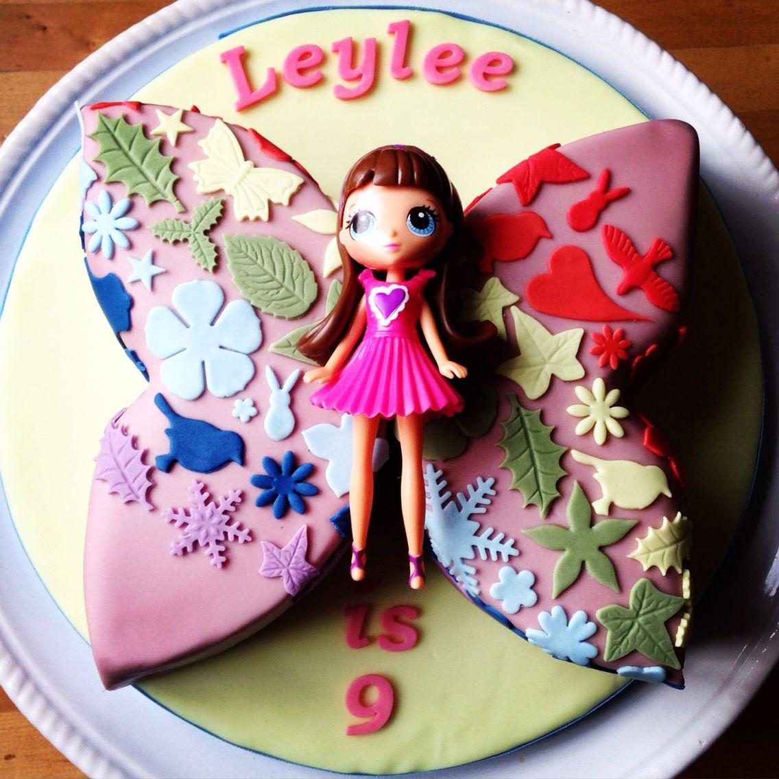 Leylee's 9th Birthday Littlest Pet Shop Rainbow Butterfly